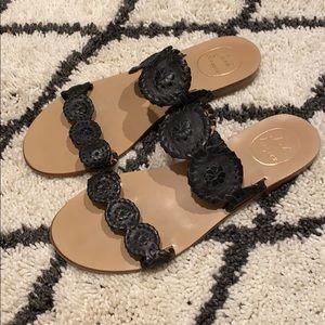 Women's size 8 black Jack Rogers Sandals